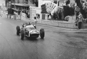 Sir Stirling Moss Lotus 18 Monaco