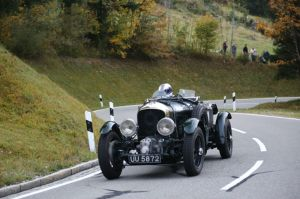Bentley at Jochpass Oldtimer Memorial (1)