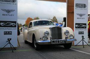 Bentley at Jochpass Oldtimer Memorial