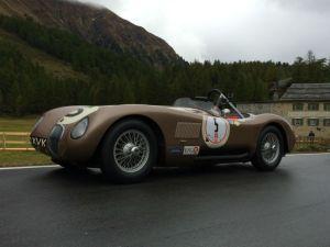 JD Classics' ex-Fangio Jaguar C-Type