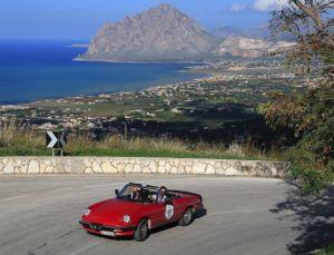 Targa Florio Classica passage at Erice