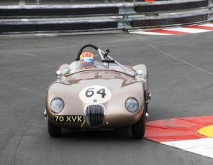 JD Classics Fangio Jaguar
