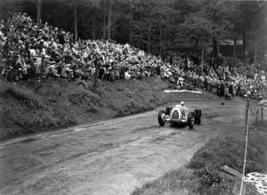 Hans Stuck in the Auto Union